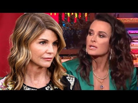 Kyle Richards Reacts to Lori Loughlin's Alleged Involvement In College Admissions Scam