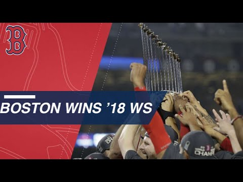 Video: Sale K's Machado, Red Sox win the 2018 World Series