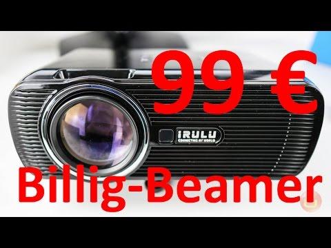 iRULU BILLIG BEAMER für 99 EURO ausprobiert | 4k