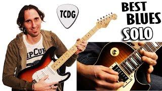 Best Blues Guitar Solo / El Mejor Solo De Blues En Guitarra Electrica Por Mario Freiria TCDG