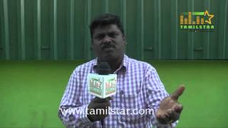 Lyricist  Sorko at Thiru Vi Ka Poonga Movie Team Interview