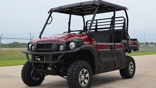 9. $15,599: 2015 Kawasaki Mule Pro FXT LE in Dark Royal Red