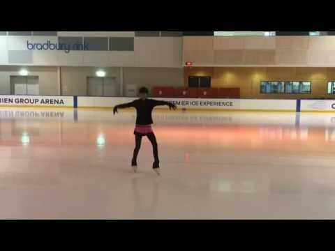 (YURI ON ICE!!!) I TRIED TO SKATE TO EROS! (видео)