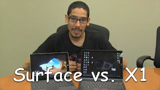 ThinkPad X1 vs. Surface Pro 3