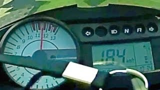 9. Comet GTR 250 2012 Top Speed velocidade maxima  184km/h
