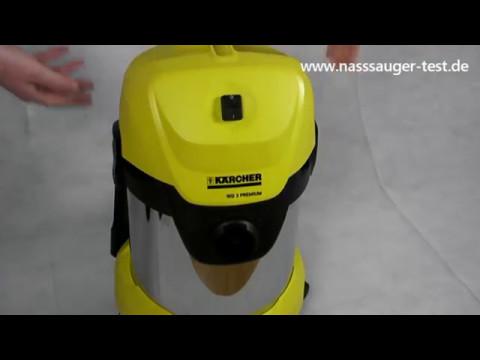 ᐅ Kärcher WD 3 Premium Nass- u. Trockensauger    Test 2017 (Deutsch / German)