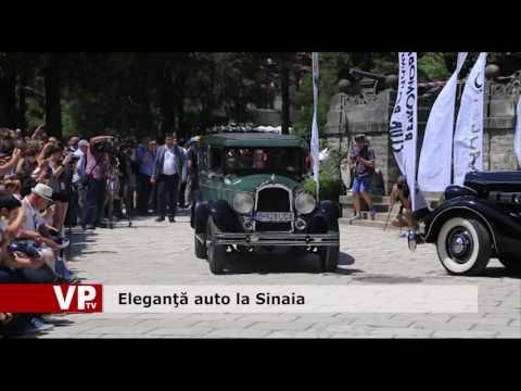 Eleganţă auto la Sinaia