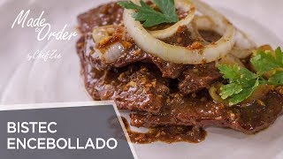 Bistec Encebollado | Stewed Steak with Onions | Dominican Recipes | Made To Order | Chef Zee Cooks