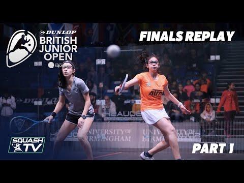 Squash: Dunlop British Junior Open 2020 - Finals - U11, U13, U15
