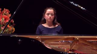 JOVEN PIANISTA ESPAÑOLA EN LA FINAL DEL AARHUS INTERNATIONAL PIANO COMPETITION