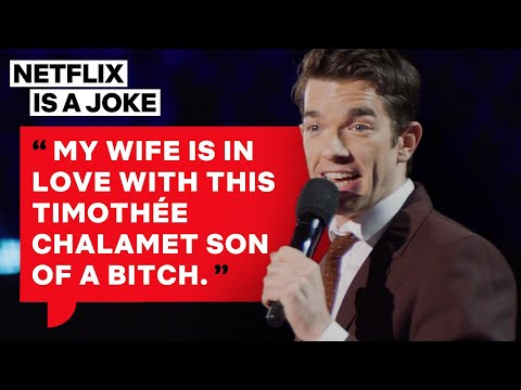John Mulaney's Wife Loves Timothée Chalamet | Netflix Is A Joke