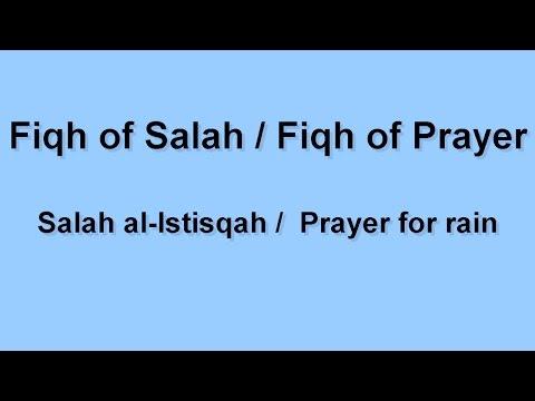 Lesson 12 Salah al Istisqah / Prayer for rain