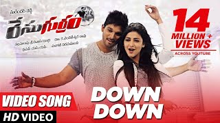 Video Race Gurram Songs | Down Down Full Video Song | Allu Arjun, Shruti hassan, S.S Thaman MP3, 3GP, MP4, WEBM, AVI, FLV Juli 2018