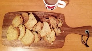 How To Make Chocolate Chip Shortbread In 34 Seconds