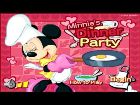 Minnie S Dinner Party Mickey Mouse Clubhouse Cooking Game Disney Junior Games For Kids