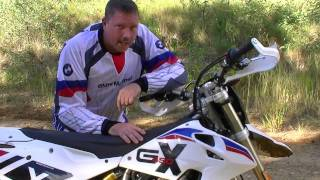 3. BMW G450X out and about with OZTRUCKINTV