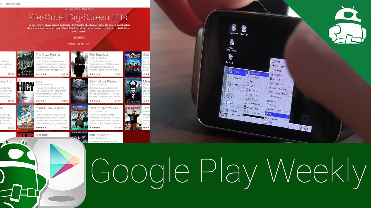 Windows 95 on a smartwatch (it happened!), Google does more awesome things – Google Play Weekly