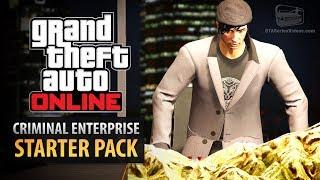 GTA Online: Criminal Enterprise Starter Pack - All Content Showcase