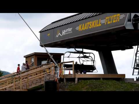 Hunter Mountain's Scenic Skyride (видео)