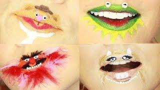 Crazy Muppet Lip Art by Kandee Johnson - YouTube