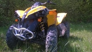 3. New ATV Can-Am Renegade 500 ! First Ride ! Review !