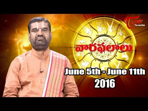 Vaara Phalalu | Weekly Predictions –  June 5th to June 11th