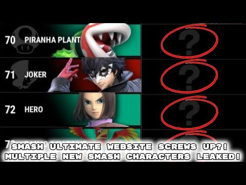 Download The Final Smash Ultimate Dlc Characters Video 3GP Mp4 FLV