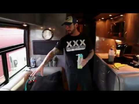Take a tour of WWE Champion CM Punk's bus