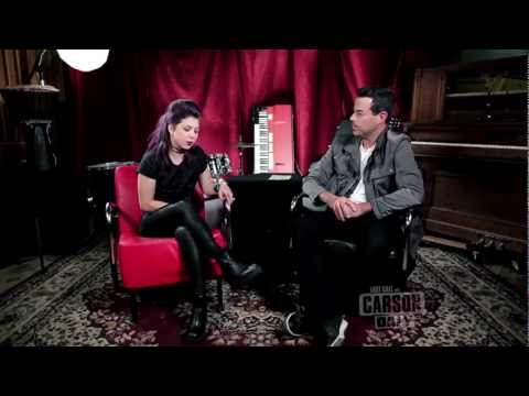 Kitten - Last Call with Carson Daly Interview