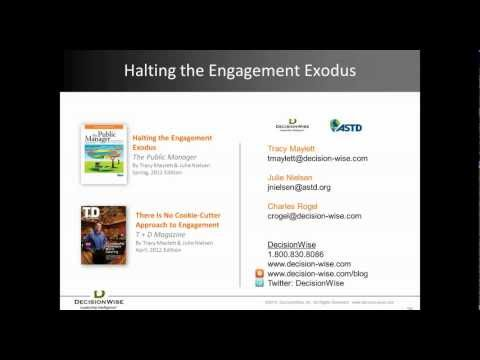 Employee Engagement: Halting the Employee Engagement Exodus