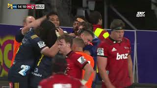 Highlanders v Crusaders Rd.5 2018 Super Rugby video highlights