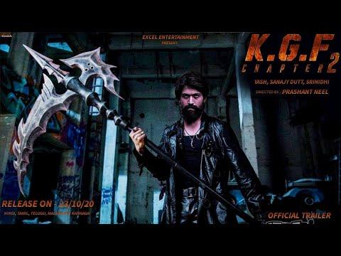 K.G.F Chapter 2 Official Trailer   Yash  Srinidhi Shetty  Sanjay Dutt  Prashanth Neel  Hombale Films