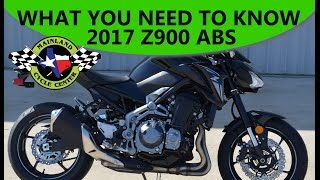 4. $8,799:  2017 Kawasaki Z900 ABS   What You Need To Know