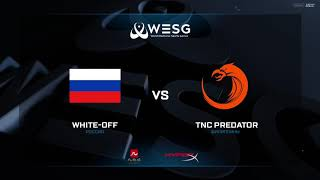 (RU) WESG Grand Final | White-Off vs TNC Predator | map 1 | bo2 | by @Mr_Zais & @Cold_Ethil
