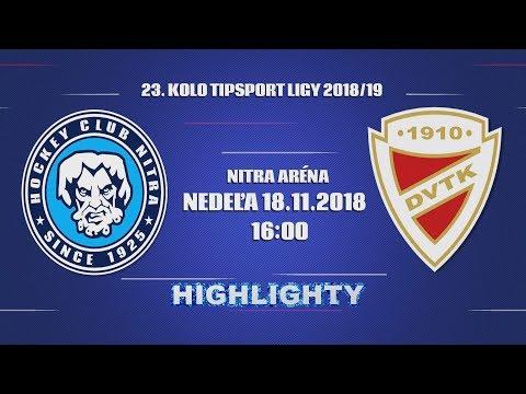 23. forduló: HK Nitra - DVTK Jegesmedvék 3-0