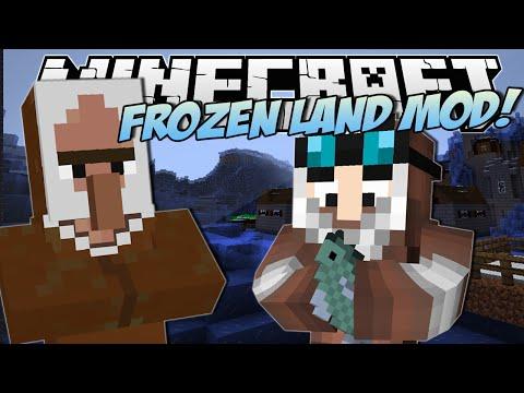 Minecraft | FROZEN LAND MOD! (Epic Ice Slides!) | Mod Showcase