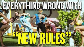 "Video Everything Wrong With Dua Lipa - ""New Rules"" MP3, 3GP, MP4, WEBM, AVI, FLV Maret 2019"