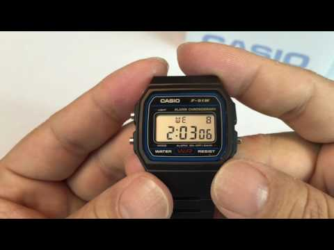 Sport Watch: Casio F91W-1 Classic Resin Strap Digital