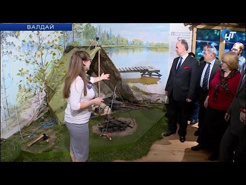 В парке «Валдайский» открылась интерактивная выставка «Путешествие от Селигера до Боровно»