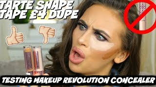 Video WORTH THE HYPE? MAKEUP REVOLUTION CONCEALER (12HR TEST) MP3, 3GP, MP4, WEBM, AVI, FLV Januari 2018