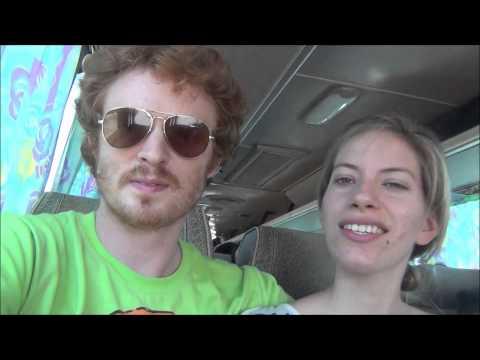 Bus Ride in Cambodia from Battambang to Phnom Penh