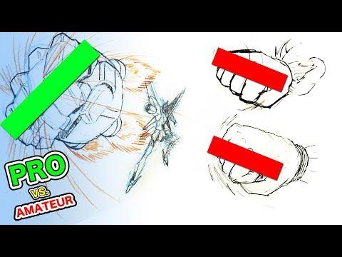 Japanese Pro vs. Amateur|Super ROCKET PUNCH! (видео)