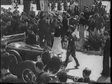 rarissimo video: benito mussolini in visita a messina, 10 agosto 1937