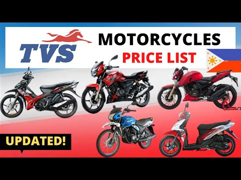 TVS Motorcycles Price List in Philippines | Brand New and Second Hand | 2020 Updated