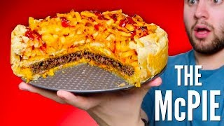 MCDONALD'S PIE DIY  How To Make McNuggets, Fries, & Burger Pie!y'all are you ready to see how to make a DIY mcdonald's pie? the mcpie! this fast food pie is literally filled with mcnuggets, french fries, and burger stuff! it's so weird and delicious and the flavor is insane! one of the most fun DIY recipes i've made!WATCH MY LAST VIDEO: https://youtu.be/JckaY3Ro-U4FOLLOW ME!Twitter  @TimmysWellInstagram  @TimmyswellSnapChat  timmyalvarezYounow  TimmyTimatobasically what i did in this how to mcdonald's pie DIY was i started by making my giant burger patty! I took ground beef and formed a thin patty and then baked it! I then baked my french fries, i microwaved the mcnuggets, and then started putting the mcdonald's pie together! i first put the pie crust in the pan and then started layering ketchup and mustard to give it that fast food, mcdonald's kind of taste! i then added the burger, pickles and cheese! i added the chicken nuggets, fries, and then finished off with ketchup and more cheese! and y'all it literally tasted just like mcdonald's but like all the menu items put together! it was so delicious and i would totally have it again!