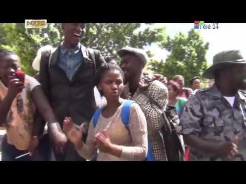 TÉLÉ 24 LIVE: LE PRÉSIDENT ZUMA HUMILIÉ PAR LES CONGOLAIS DE CAPE TOWN DEVANT LA POLICE SUD-AFRICAINE