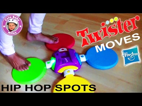 Twister Moves Hip Hop Spots von Hasbro - Spielzeug Test Review tanzen - Kinderkanal