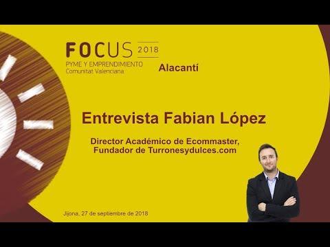 Fabián Lopez, CEO de turronesydulces.com en Focus Pyme Alacantí[;;;][;;;]
