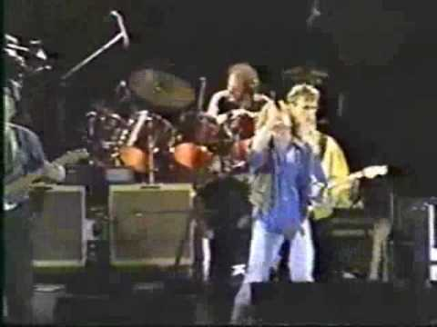 Roger Daltrey with David Gilmour (on guitar) – Pinball Wizard – Live in Cali, Colombia 1992