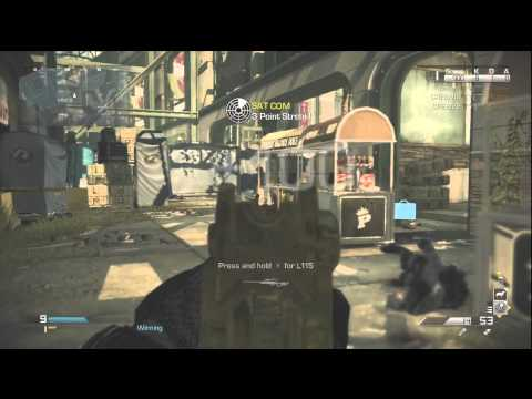 COD Ghosts Honey Badger Assault...